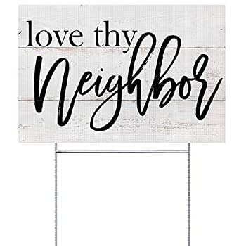 Love God - Love Neighbor - Show Me The Signs -  by Pastor Scott